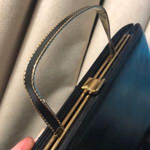 Vintage Bags - Vintage 🖤 Andé Evening Bag Black Handbag